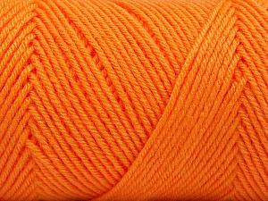 Fiber Content 50% Wool, 50% Acrylic, Orange, Brand Ice Yarns, Yarn Thickness 3 Light  DK, Light, Worsted, fnt2-56438