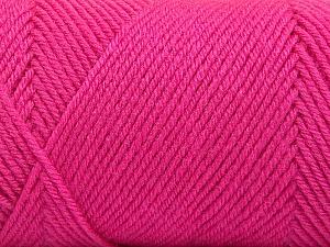 Fiber Content 50% Wool, 50% Acrylic, Pink, Brand Ice Yarns, Yarn Thickness 3 Light  DK, Light, Worsted, fnt2-56440