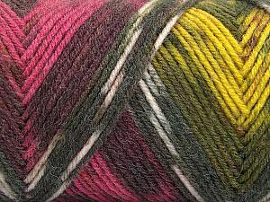 Fiber Content 50% Wool, 50% Acrylic, Yellow, Pink, Orange, Maroon, Brand Ice Yarns, Grey, Yarn Thickness 3 Light  DK, Light, Worsted, fnt2-56452