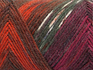 Fiber Content 50% Wool, 50% Acrylic, White, Brand Ice Yarns, Grey Shades, Copper, Burgundy, Blue, Yarn Thickness 3 Light  DK, Light, Worsted, fnt2-56455