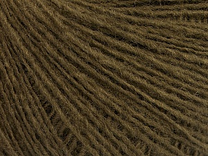 Fiber Content 50% Wool, 50% Acrylic, Brand Ice Yarns, Dark Khaki, Yarn Thickness 2 Fine  Sport, Baby, fnt2-56489