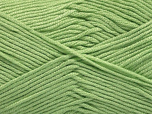 Fiber Content 50% Bamboo, 50% Acrylic, Mint Green, Brand Ice Yarns, Yarn Thickness 2 Fine  Sport, Baby, fnt2-56575