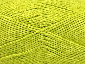 Fiber Content 50% Acrylic, 50% Bamboo, Light Green, Brand Ice Yarns, Yarn Thickness 2 Fine  Sport, Baby, fnt2-56577