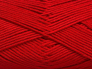 Fiber Content 50% Acrylic, 50% Bamboo, Red, Brand Ice Yarns, Yarn Thickness 2 Fine  Sport, Baby, fnt2-56580