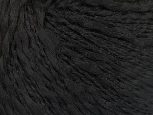 Fiber Content 90% Acrylic, 10% Cotton, Brand Ice Yarns, Black, fnt2-56752