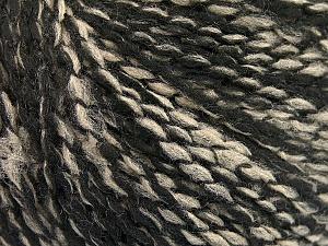 Fiber Content 60% Acrylic, 20% Wool, 20% Polyamide, Brand Ice Yarns, Black, Beige, Yarn Thickness 3 Light  DK, Light, Worsted, fnt2-56771