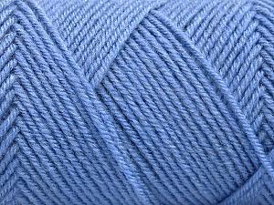 Fiber Content 50% Wool, 50% Acrylic, Indigo Blue, Brand Ice Yarns, Yarn Thickness 3 Light  DK, Light, Worsted, fnt2-57730