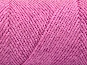 Fiber Content 50% Acrylic, 50% Wool, Light Pink, Brand Ice Yarns, Yarn Thickness 3 Light  DK, Light, Worsted, fnt2-57732