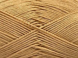 Fiber Content 50% Acrylic, 50% Bamboo, Brand Ice Yarns, Dark Cream, Yarn Thickness 2 Fine  Sport, Baby, fnt2-57841