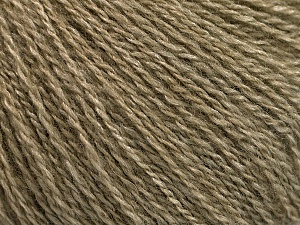 Fiber Content 65% Merino Wool, 35% Silk, Khaki, Brand Ice Yarns, Yarn Thickness 1 SuperFine  Sock, Fingering, Baby, fnt2-57856