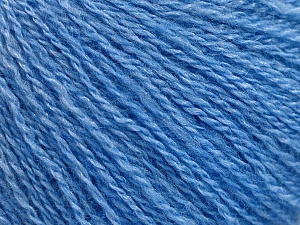 Fiber Content 65% Merino Wool, 35% Silk, Brand Ice Yarns, Blue, Yarn Thickness 1 SuperFine  Sock, Fingering, Baby, fnt2-57861