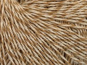 Fiber Content 50% Acrylic, 50% Wool, Brand Ice Yarns, Cream, Beige, Yarn Thickness 3 Light  DK, Light, Worsted, fnt2-58042