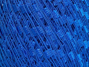 Trellis  Fiber Content 100% Polyester, Brand Ice Yarns, Blue, Yarn Thickness 5 Bulky  Chunky, Craft, Rug, fnt2-58089