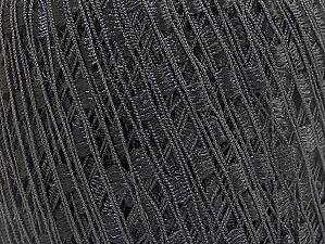 Trellis  Fiber Content 100% Polyester, Brand Ice Yarns, Black, Yarn Thickness 5 Bulky  Chunky, Craft, Rug, fnt2-58246