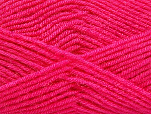 Fiber Content 60% Acrylic, 40% Wool, Brand Ice Yarns, Candy Pink, Yarn Thickness 3 Light  DK, Light, Worsted, fnt2-58338