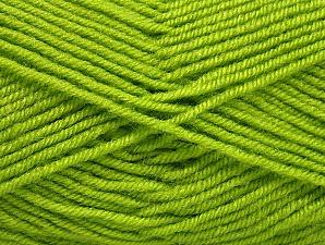 Fiber Content 60% Acrylic, 40% Wool, Brand Ice Yarns, Green, Yarn Thickness 3 Light  DK, Light, Worsted, fnt2-58340