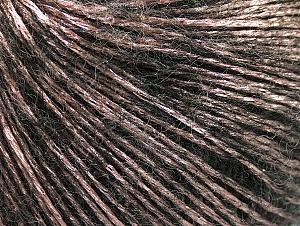 Fiber Content 70% Polyamide, 19% Merino Wool, 11% Acrylic, Pink, Brand ICE, Black, Yarn Thickness 2 Fine  Sport, Baby, fnt2-58404