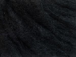 Fiber Content 50% Wool, 50% Acrylic, Brand Ice Yarns, Black, fnt2-58523