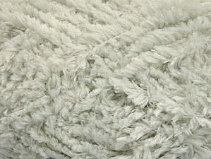 Fiber Content 100% Micro Fiber, Light Grey, Brand Ice Yarns, Yarn Thickness 6 SuperBulky  Bulky, Roving, fnt2-58812
