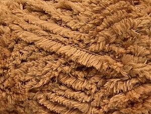 Fiber Content 100% Micro Fiber, Light Brown, Brand Ice Yarns, Yarn Thickness 6 SuperBulky  Bulky, Roving, fnt2-58816