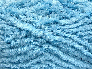 Fiber Content 100% Micro Fiber, Brand Ice Yarns, Baby Blue, Yarn Thickness 6 SuperBulky  Bulky, Roving, fnt2-58823
