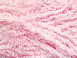 Fiber Content 100% Micro Fiber, Brand Ice Yarns, Baby Pink, Yarn Thickness 6 SuperBulky  Bulky, Roving, fnt2-58825