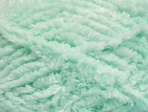 Fiber Content 100% Micro Fiber, Mint Green, Brand Ice Yarns, Yarn Thickness 6 SuperBulky  Bulky, Roving, fnt2-58826