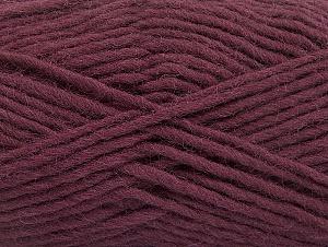 Fiber Content 100% Wool, Maroon, Brand Ice Yarns, Yarn Thickness 5 Bulky  Chunky, Craft, Rug, fnt2-58885