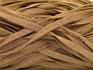 Fiber Content 82% Viscose, 18% Polyester, Light Brown, Brand Ice Yarns, Yarn Thickness 5 Bulky  Chunky, Craft, Rug, fnt2-58899