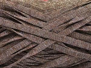 Fiber Content 82% Viscose, 18% Polyester, Brand Ice Yarns, Camel Melange, Yarn Thickness 5 Bulky  Chunky, Craft, Rug, fnt2-58900