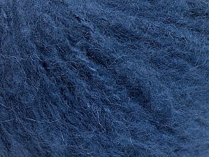 Fiber Content 70% Acrylic, 20% Mohair, 10% Wool, Navy, Brand Ice Yarns, Yarn Thickness 3 Light  DK, Light, Worsted, fnt2-59085