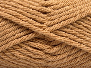 Fiber Content 100% Acrylic, Light Brown, Brand Ice Yarns, Yarn Thickness 6 SuperBulky  Bulky, Roving, fnt2-59736