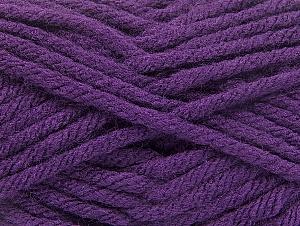 Fiber Content 100% Acrylic, Purple, Brand Ice Yarns, Yarn Thickness 6 SuperBulky  Bulky, Roving, fnt2-59738