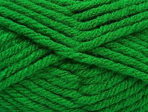 Fiber Content 100% Acrylic, Brand Ice Yarns, Green, Yarn Thickness 6 SuperBulky  Bulky, Roving, fnt2-59739
