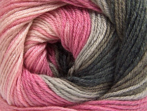 Fiber Content 70% Acrylic, 30% Merino Wool, Pink Shades, Brand Ice Yarns, Grey Shades, Brown, Yarn Thickness 2 Fine  Sport, Baby, fnt2-59771