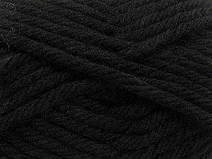 Fiber Content 100% Acrylic, Brand Ice Yarns, Black, Yarn Thickness 6 SuperBulky  Bulky, Roving, fnt2-59788
