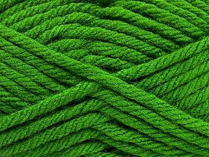 Fiber Content 100% Acrylic, Brand Ice Yarns, Green, Yarn Thickness 6 SuperBulky  Bulky, Roving, fnt2-59793