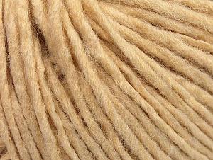 Fiber Content 50% Wool, 50% Acrylic, Brand Ice Yarns, Dark Cream, Yarn Thickness 4 Medium  Worsted, Afghan, Aran, fnt2-59800