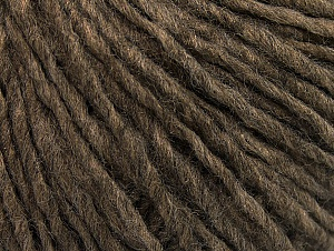 Fiber Content 50% Acrylic, 50% Wool, Brand Ice Yarns, Brown Melange, Yarn Thickness 4 Medium  Worsted, Afghan, Aran, fnt2-59807