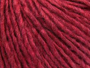 Fiber Content 50% Wool, 50% Acrylic, Brand Ice Yarns, Fuchsia Melange, Yarn Thickness 4 Medium  Worsted, Afghan, Aran, fnt2-59828