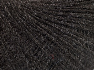 Fiber Content 50% Wool, 50% Acrylic, Brand Ice Yarns, Dark Brown, Yarn Thickness 2 Fine  Sport, Baby, fnt2-60005