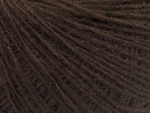 Fiber Content 50% Acrylic, 50% Wool, Brand Ice Yarns, Coffee Brown, Yarn Thickness 2 Fine  Sport, Baby, fnt2-60013