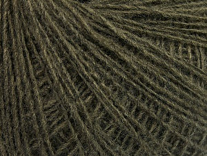 Fiber Content 50% Acrylic, 50% Wool, Khaki, Brand Ice Yarns, Yarn Thickness 2 Fine  Sport, Baby, fnt2-60014