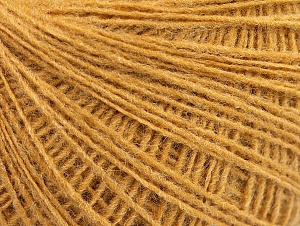 Fiber Content 50% Wool, 50% Acrylic, Brand Ice Yarns, Gold, Yarn Thickness 2 Fine  Sport, Baby, fnt2-60017