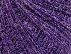 Fiber Content 50% Acrylic, 50% Wool, Lilac, Brand Ice Yarns, Yarn Thickness 2 Fine  Sport, Baby, fnt2-60035