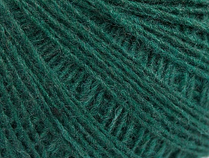 Fiber Content 50% Wool, 50% Acrylic, Brand Ice Yarns, Dark Green, Yarn Thickness 2 Fine  Sport, Baby, fnt2-60042