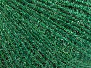 Fiber Content 50% Wool, 50% Acrylic, Brand Ice Yarns, Green, Yarn Thickness 2 Fine  Sport, Baby, fnt2-60043