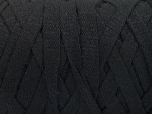 Contenido de fibra 100% Recycled Cotton, Brand Ice Yarns, Black, Yarn Thickness 6 SuperBulky  Bulky, Roving, fnt2-60121