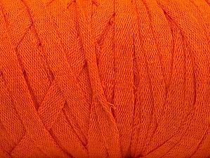 Contenido de fibra 100% Recycled Cotton, Orange, Brand Ice Yarns, Yarn Thickness 6 SuperBulky  Bulky, Roving, fnt2-60125