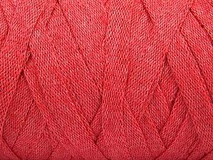 Contenido de fibra 100% Recycled Cotton, Salmon, Brand Ice Yarns, Yarn Thickness 6 SuperBulky  Bulky, Roving, fnt2-60126